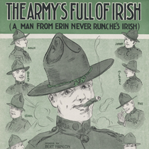 Sheet Music of the Irish in World War I