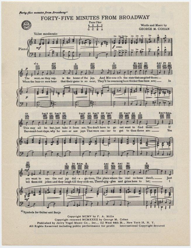george m. cohan - irish sheet music archives  irish sheet music archives