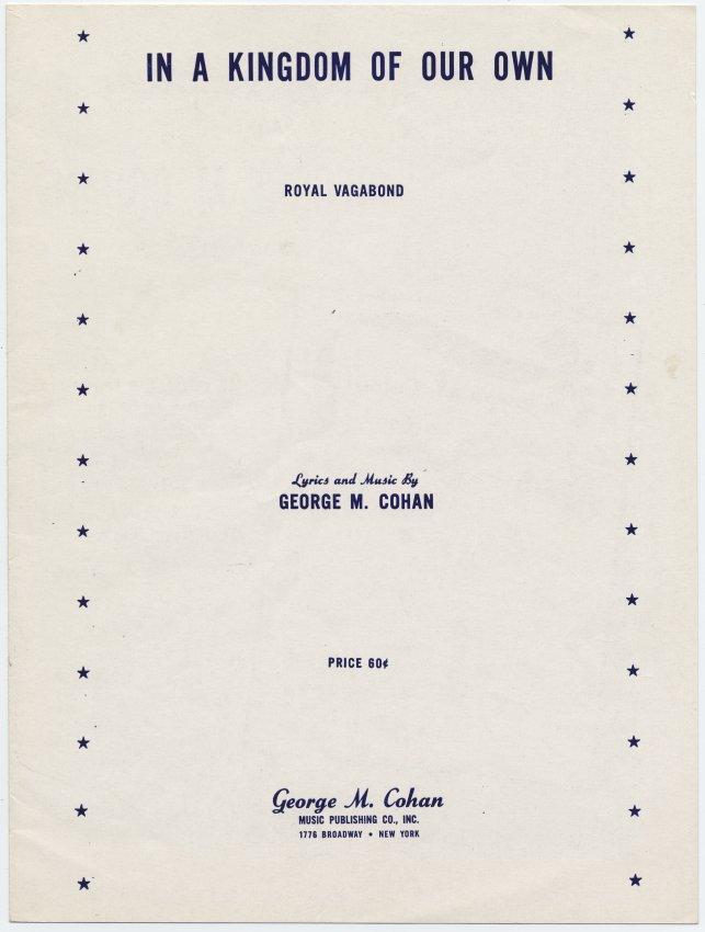 Lyric jewish song lyrics : George M. Cohan - Irish Sheet Music Archives
